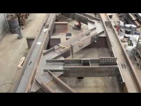 Long Island Steel Fabrication - St. Josephs Truss Flyover