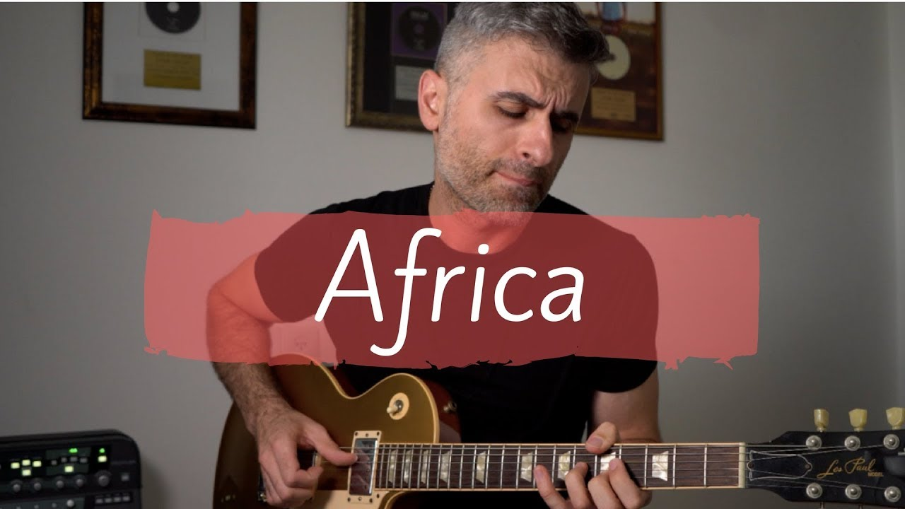 how to play toto africa on guitar