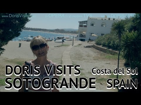 Sotogrande, near Gibraltar. Jean shows us the Beverly Hills of the Costa Del Sol