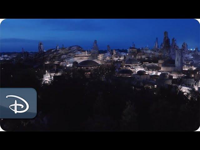 Bird's-Eye View of Star Wars: Galaxy's Edge at Disney's Hollywood Studios
