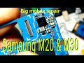 - Samsung m20 & m30 water damage dead problem, m20 m30 water damage repair & charging IC problem