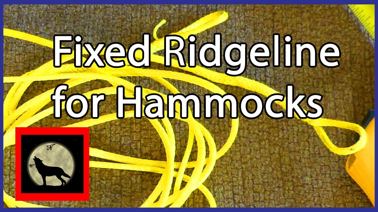 fixed structural ridgeline for hammocks using 1 8th amsteel fixed structural ridgeline for hammocks using 1 8th amsteel   youtube  rh   youtube
