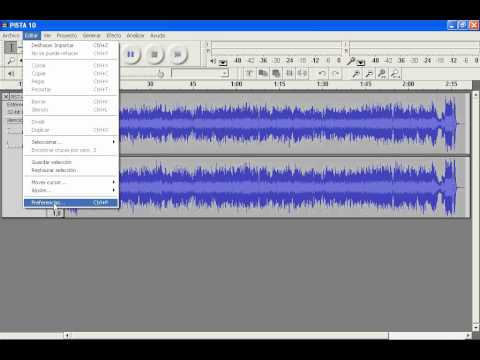 Como Convertir archivos DE AUDIO a MP3 usando el software AUDACITY