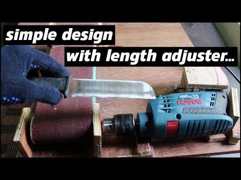 DIY Belt Sander
