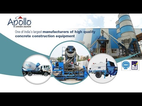 Easy Construction Process With Concrete Equipment - Www.apolloinffratech.com