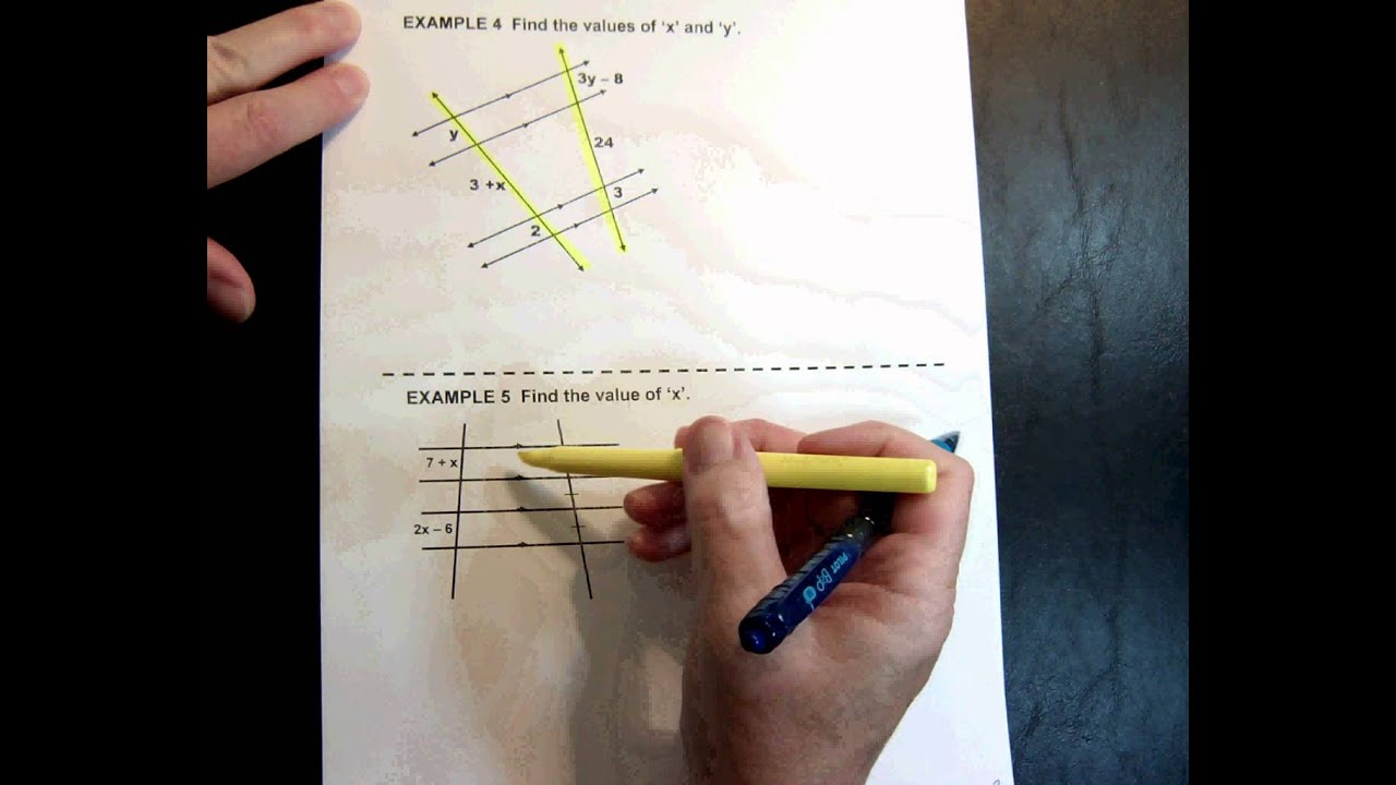 G1 Topic 8 8 More Parallel Lines Proportional Segments 718min
