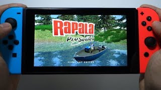 Rapala Fishing Pro Series Nintendo Switch gameplay