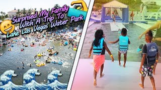 Surprised My Family  With A Trip To  Lake Las Vegas Water Park!