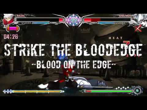 [BBCF] Strike = The = Bloodedge [Multiple Character Combo Movie]