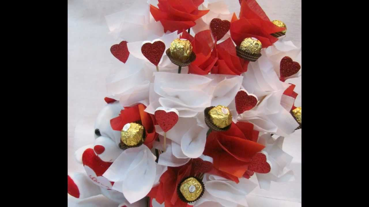 Chocolate Bouquet by Sasha - YouTube
