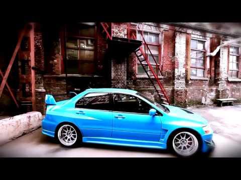 mitsubishi evolution ix blue - Mitsubishi Evo 9 Blue