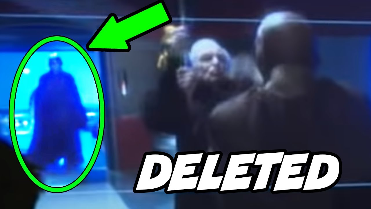 Anakin's Deleted Scene during Palpatine vs Mace Duel Explained
