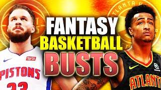 Top 10 BUSTS Players Fantasy Basketball 2020-2021