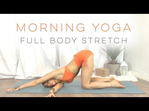 Morning Yoga For Beginners 10 Minute Full Body Stretch