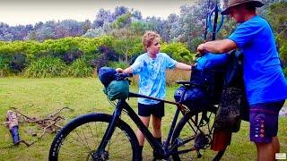 Push Bike Camping Adventure...
