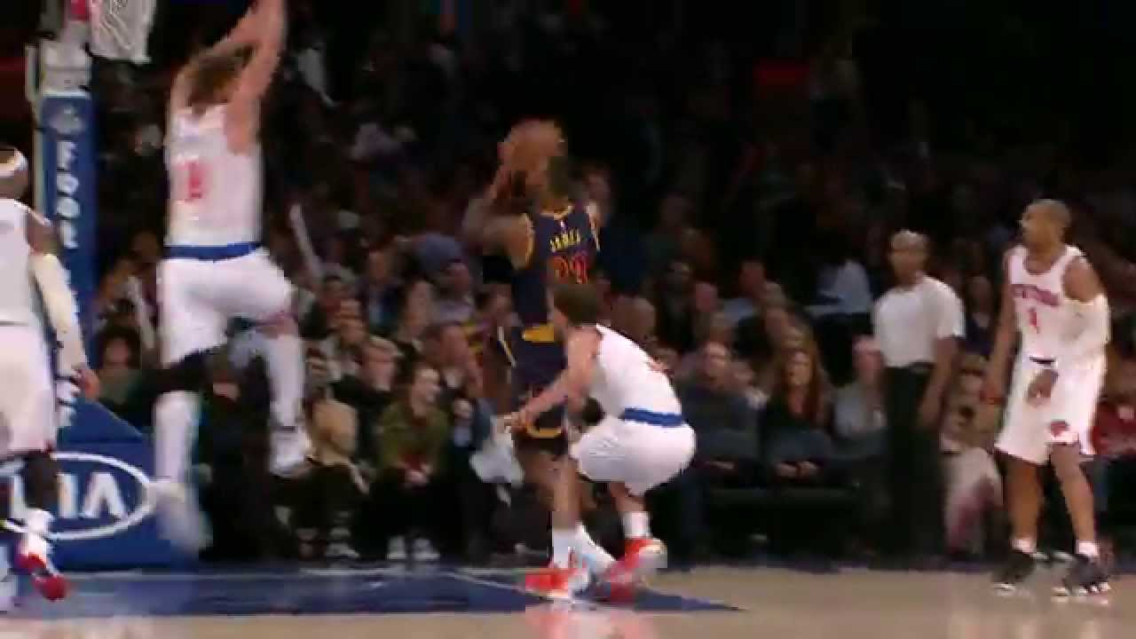 1ea399c76f0 LeBron James With the Spin and Acrobatic Finish! - YouTube