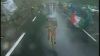 Marco Pantani Tour de France 1998 - Galibier/Les deux Alpes - English comment -Parte  2/2