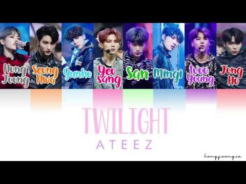 ATEEZ (에이티즈)- Twilight (Color Coded Han/Rom/Eng)