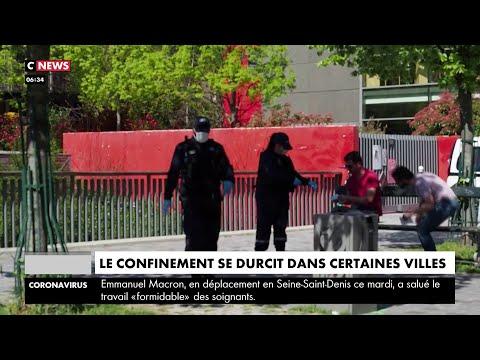 Coronavirus: les mesures de confinement se durcissent dans certaines villes de France