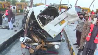 12 Dead in Accident At Islamabad Toll Plaza: Motorway Police