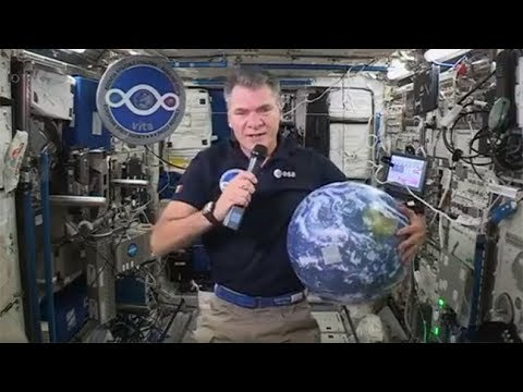 We speak to ESA astronaut Paolo Nespoli on the International Space Station