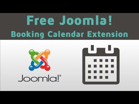 Free Joomla Booking Calendar Extension