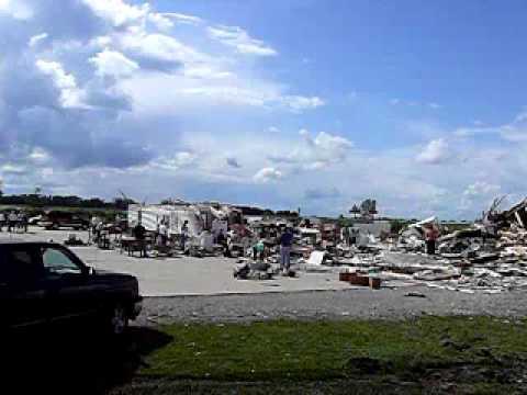 Tornadodamage Williamsville/Illinois