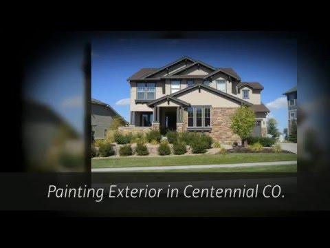video:Centennial Painters and Paint Contractor Services