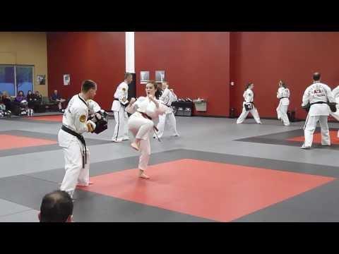Taekwondo Black Belt Testing