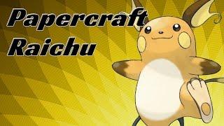 Papercraft - Raichu