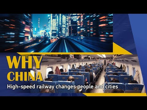 High-speed railway changes people and cities in China