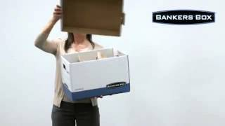 Bankers Box® Dividerbox Storage Boxes