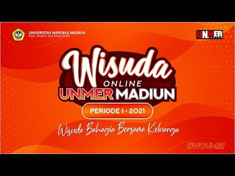 TATA CARA WISUDA ONLINE UNMER 2021