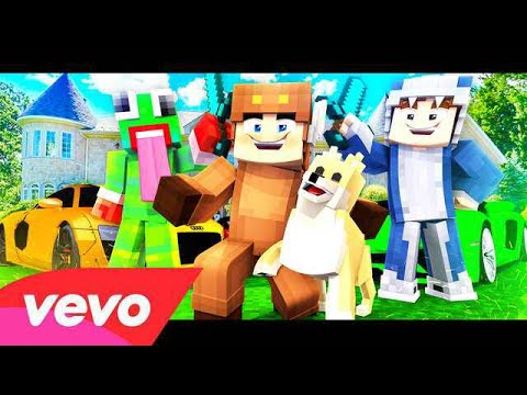 "♫ ""LUCY"" - Minecraft Parody of FEFE by 6ix9ine & Nicki Minaj (Music Video) ♫ (By MooseCraft)"