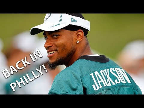 DeSean Jackson Traded Back to the Eagles!
