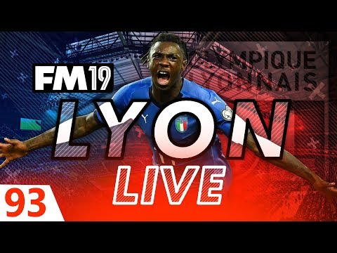 Football Manager 2019 | Lyon Live #93: Unsung Hero #FM19