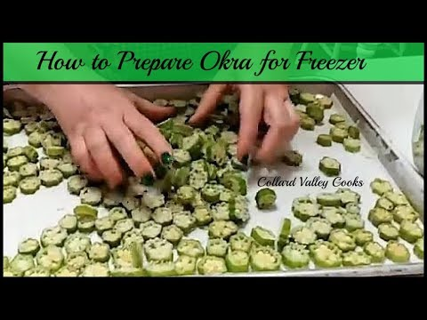CVC's How to Freeze Okra, Mama's Best Southern Cooking Tutorials