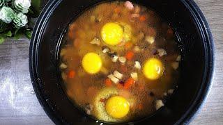 RESEP VIRAL XIAOYING CUISINE | Nasi Telur Rice Cooker