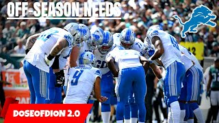Ranking Every Lions Off-Season NEED! Darius Slay's Replacement? Detroit Lions Talk