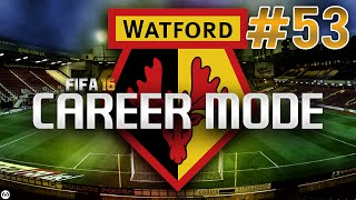 FIFA 16 CAREER MODE | #53 | FA Cup Final v Arsenal (LIVE)
