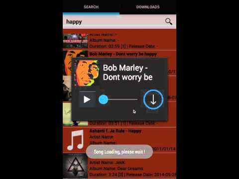 Simple Mp3 Music Downloader