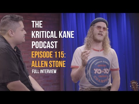 Allen Stone: FULL INTERVIEW | The Kritical Kane Podcast