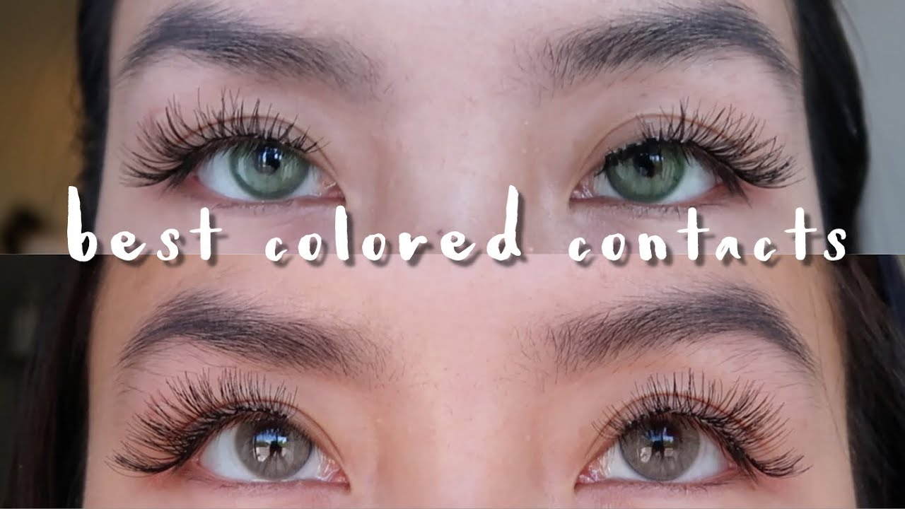 733d5aac97d Best Colored Contacts for Dark Brown Eyes! Solotica Dupes - YouTube