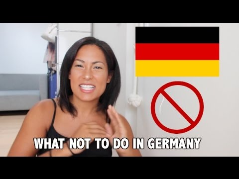 how to say not in german