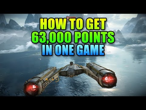 How To Get 63,000 Points In One Game | Star Wars Battlefront 2