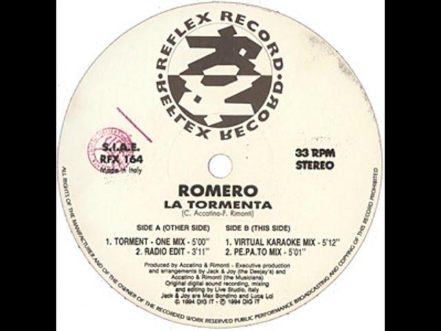 Romero - La Tormenta (Virtual Karaoke Mix)
