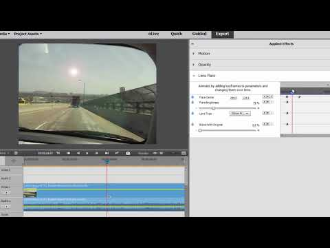 Creating a meteor strike effect in Premiere Elements