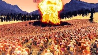 Самая Большая Битва 30 000 Воинов И Большой Взрыв Ultimate Epic Battle Simulator 1