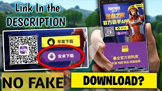 Fortnite on Android - How to Download Chinese version FORTNITE + Link
