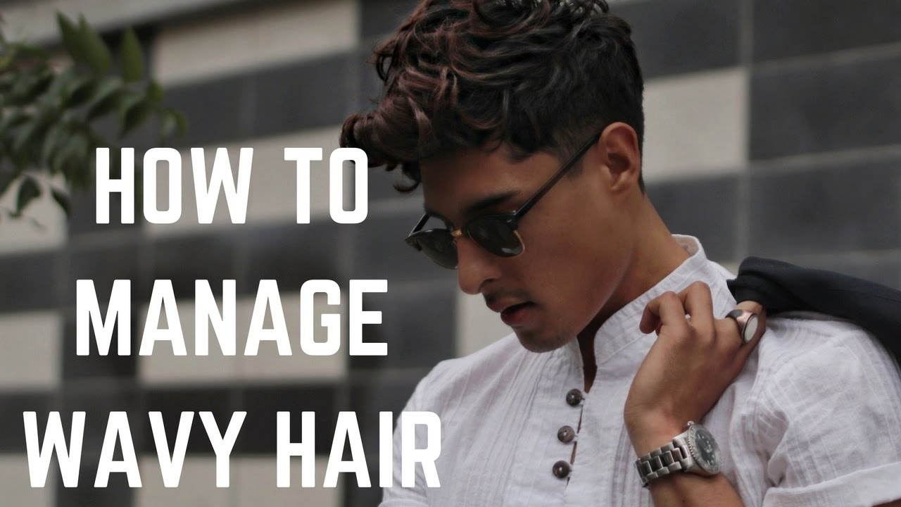 Top Tips To Managing Natural Wavy Hair Mens Hairstyle Trends 2017